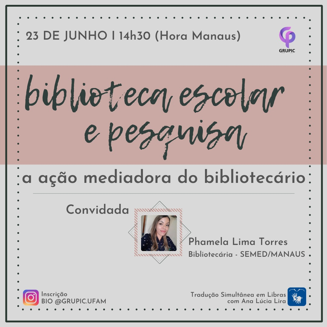 Biblioteca Escolar e pesquisa: a ação mediadora do bibliotecário