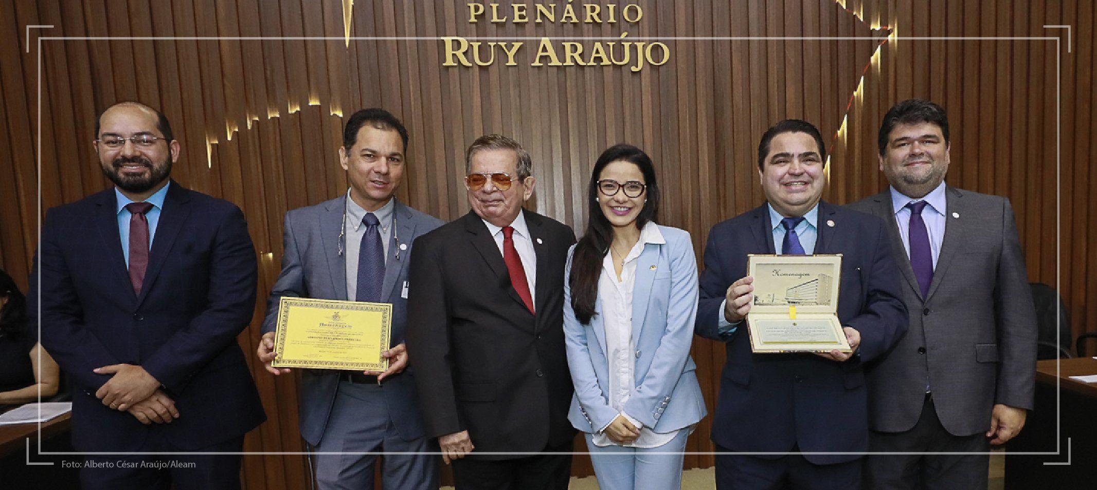 110 anos - Curso de Direito recebe homenagem na Assembleia Legislativa