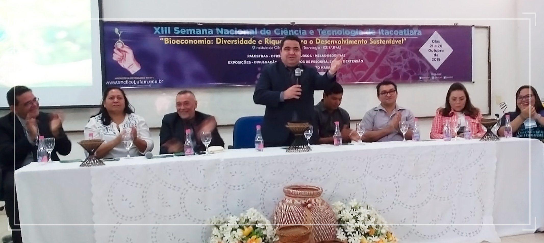 Atividades da Semana de Ciência e Tecnologia do Icet tem eventos simultâneos em Itacoatiara, Silves e Nova Olinda do Norte