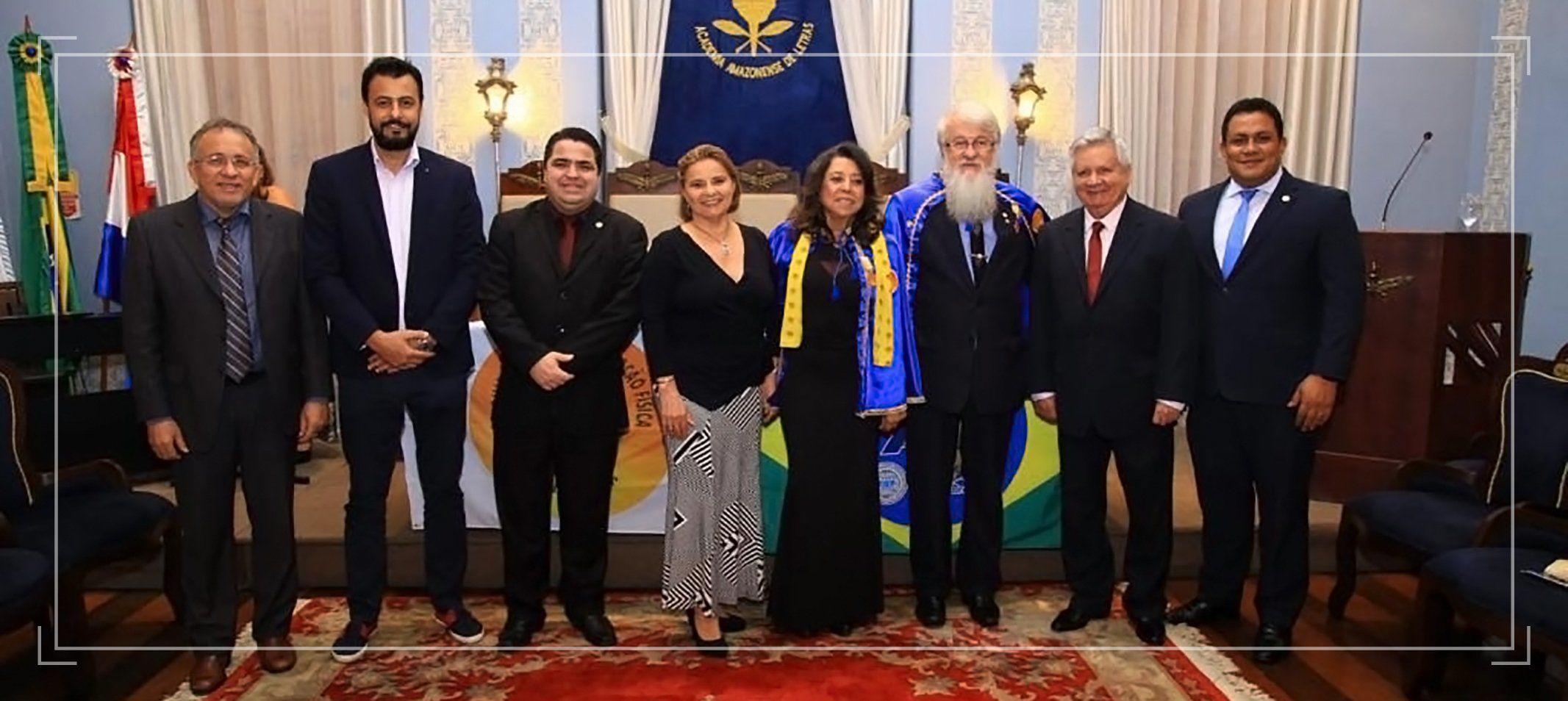 Professora Artemis Soares, titular da Ufam e imortal da AAL, toma posse na Academia Brasileira de Educação Física