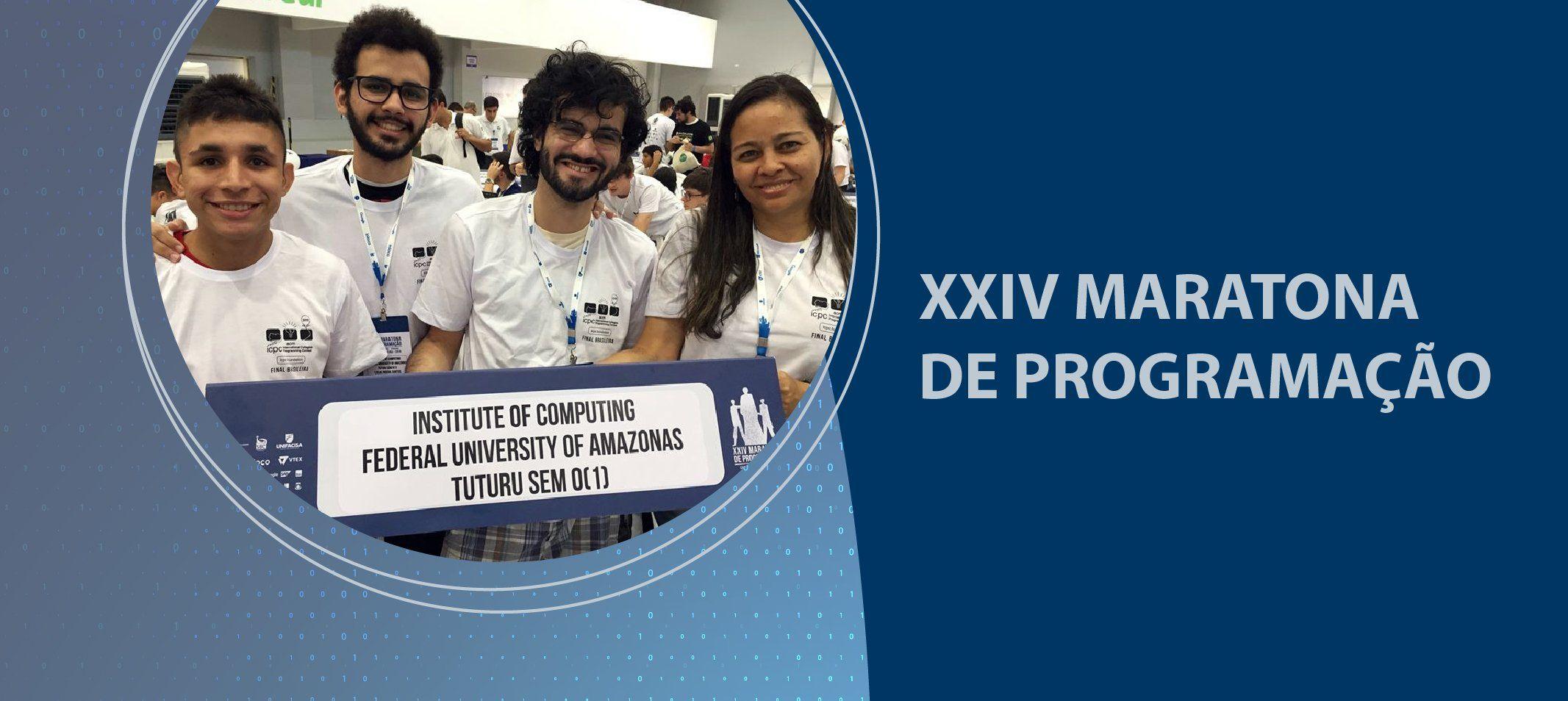 Equipe 'Tuturu sem O (1)' é bronze na final brasileira da Maratona de Programação