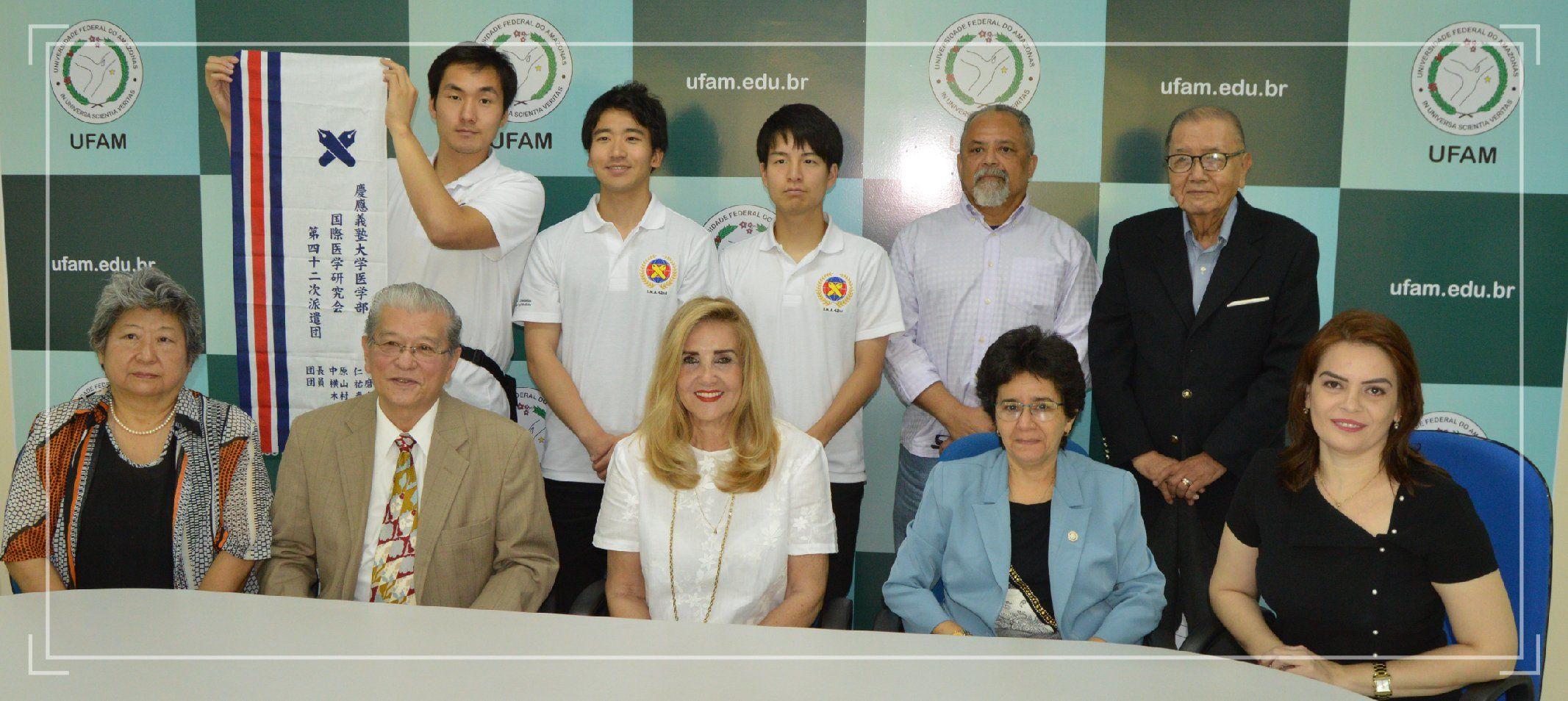 ARII recepciona estudantes japoneses e pode estabelecer parceria