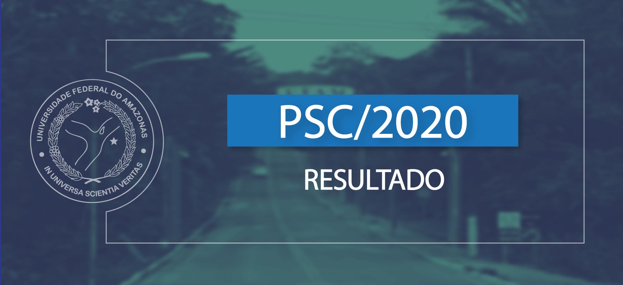 Ufam divulga resultado da terceira etapa do PSC 2020