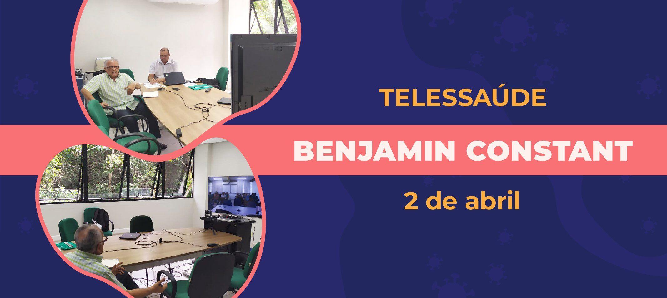 Profissionais de saúde de Benjamin Constant recebem capacitação sobre combate à pandemia