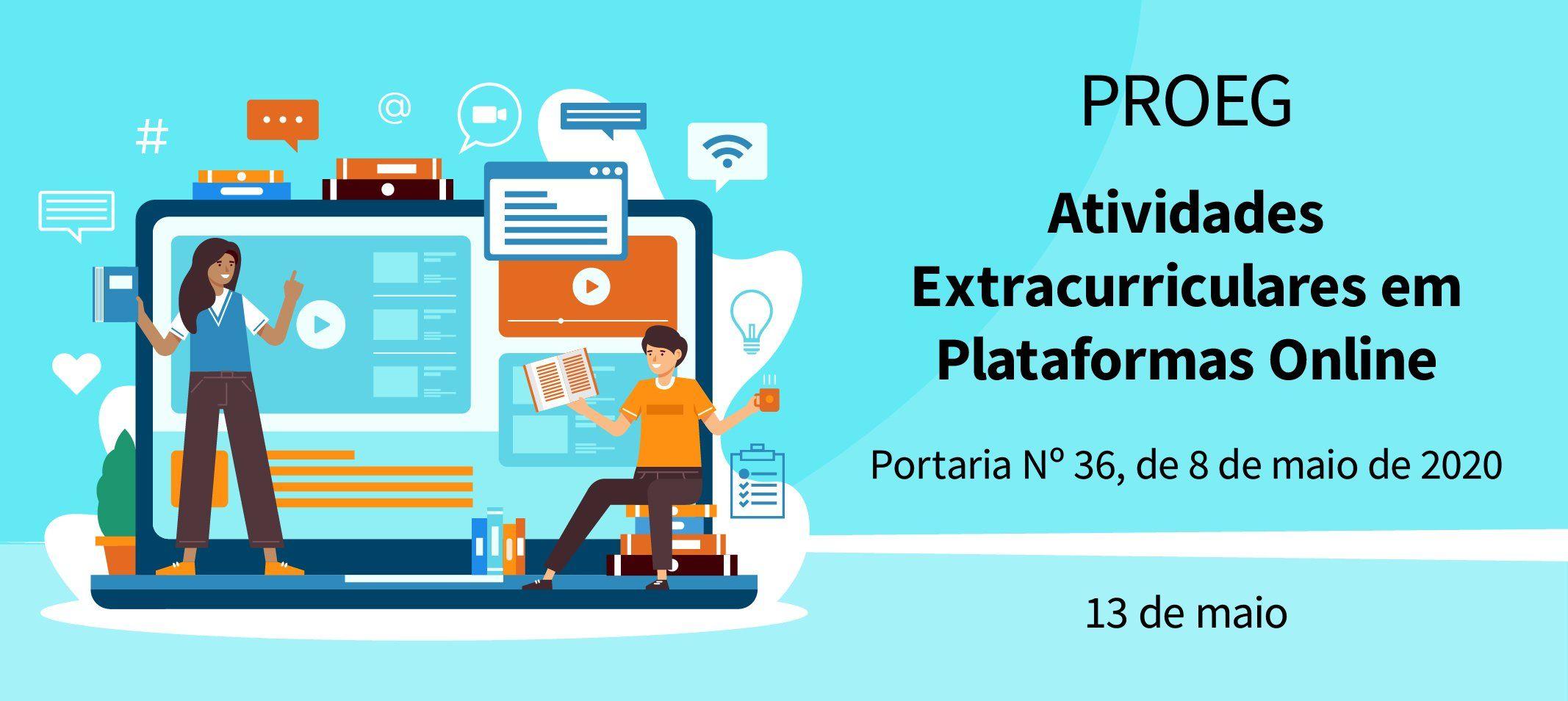 Ufam autoriza realização de atividades extracurriculares em plataformas online