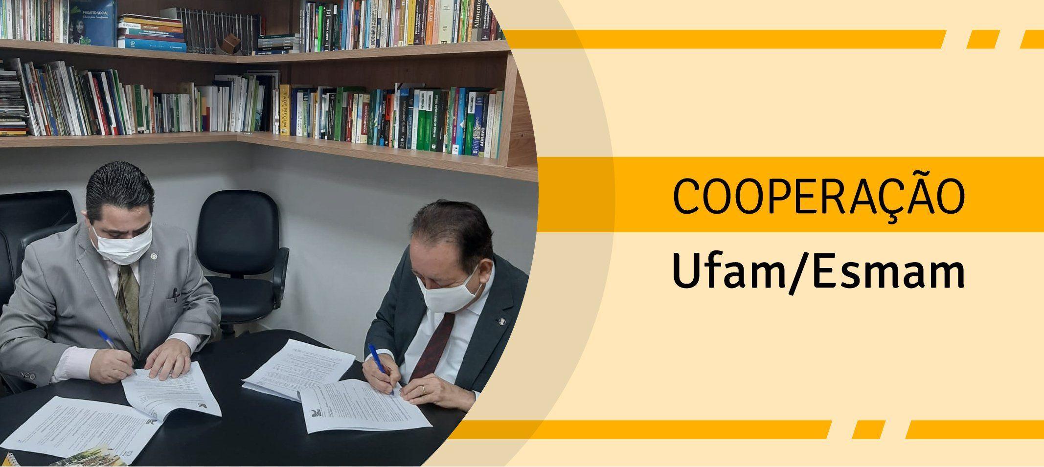 Convênio entre Ufam e Escola da Magistratura prevê a realização de três cursos de pós-graduação