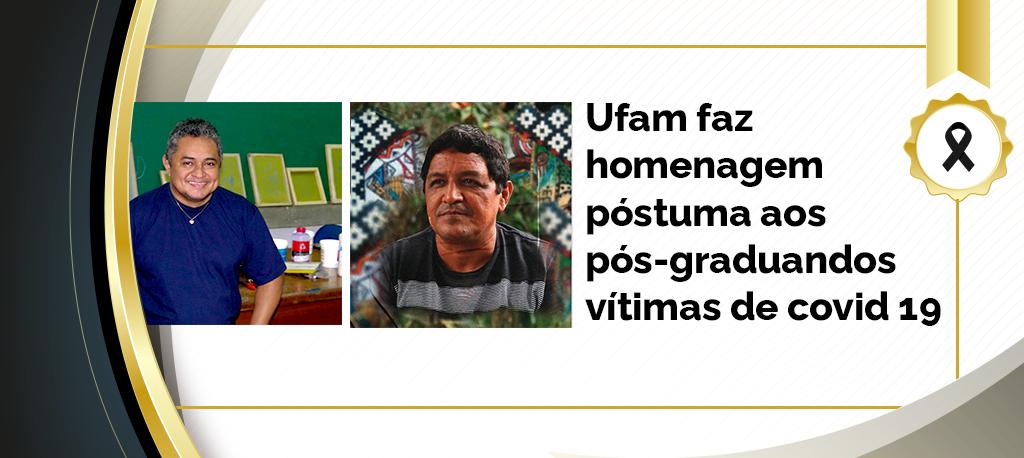 Familiares dos discentes Nildo da Silva Pereira e Ely Ribeiro de Souza receberam os diplomas