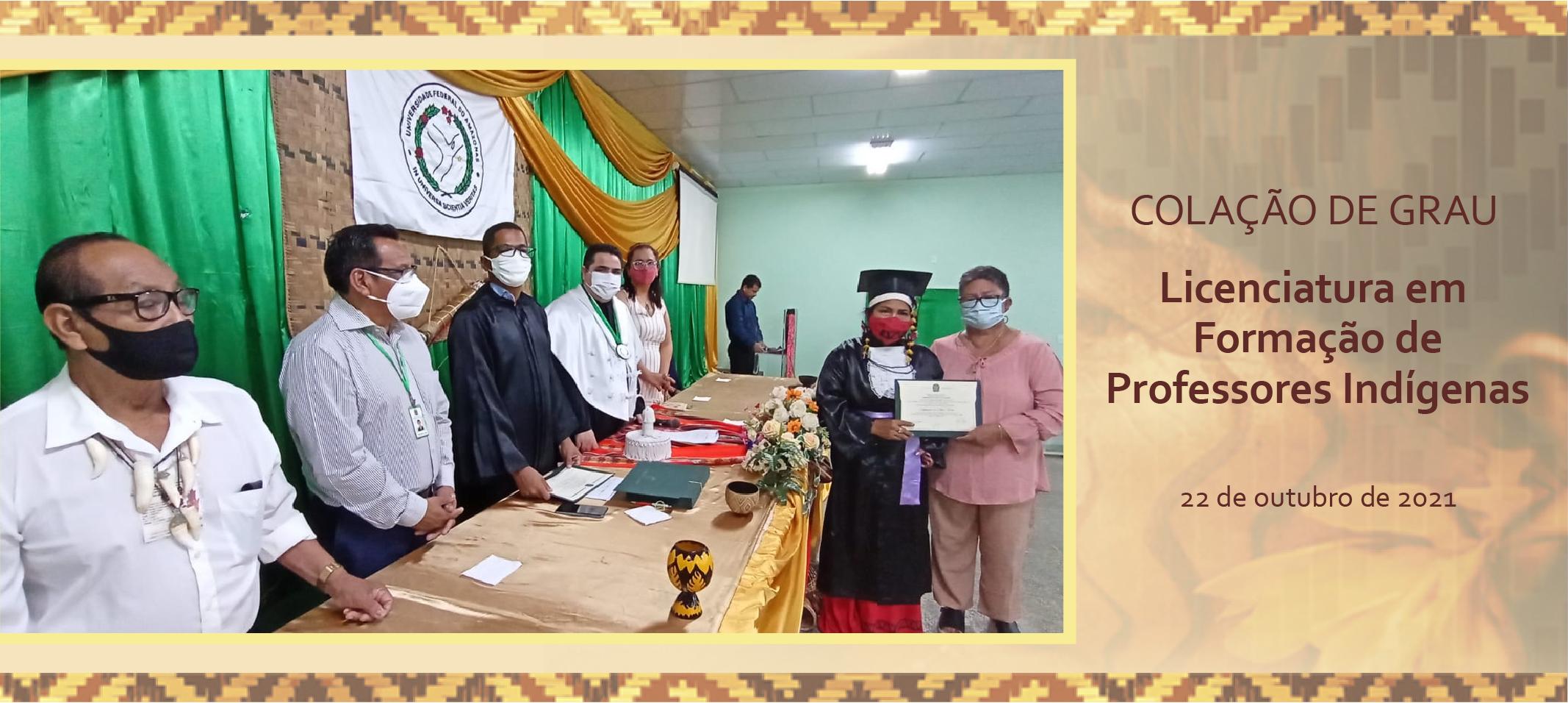 Ufam outorga grau a 43 professores indígenas em Tefé