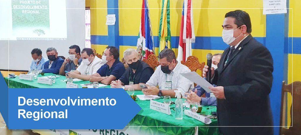 Em evento da Suframa sobre Desenvolvimento Regional, reitor da Ufam fala sobre iniciativas recentes da Instituição para fortalecer a região